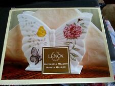 Lenox Butterfly Meadow Napkin Holder RETIRED Hard to Find NEW IN BOX