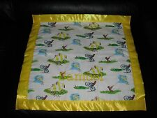 CURIOUS GEORGE Personalized Cotton & Fleece Blanket Custom made