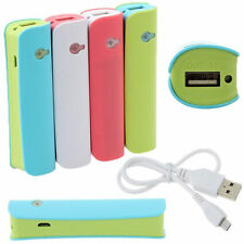 2600mAh Externe Power Bank Backup Battery Batterie Chargeur Charger Pr CellPhone