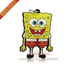 1PCS Spongebob DIY PVC Pendants Charms for Keychains & necklace & Bracelets,Gift