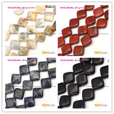 "Square Diagonal 16mm  DIY Jewelry Making Loose Beads Strand 15"" Materials Select"