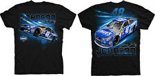 2015 JIMMIE JOHNSON #48 LOWES GRANDSTAND BLACK NASCAR TEE SHIRT