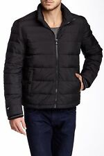 Nwt KENNETH COLE New York Men's Black Quilted Down Puffer Jacket $250!