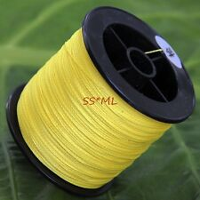 PE FISHING LINE 100M 6-100LB STRONG DYNEEMA SPECTRA YELLOW BRAID BRAIDED SPECTRA