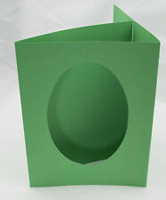 """3 fold aperture cards oval Shape with envelopes 8"""" by 6"""""""