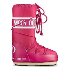 Moon Boot by Tecnica Nylon Damen Schnee Stiefel Winter Schuhe pink Bouganville