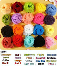 Long Soft Scarf Wrap Colorful Women Girl Candy Crinkle Shawl Scarves Scarf Wrap