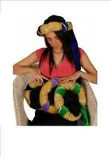 Medieval Style Arabian Night Fancy Dress Hat Accessory - Various Trim Colours