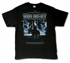 "VOLBEAT ""LONESOME RANGER"" BLACK T-SHIRT NEW OFFICIAL ADULT"