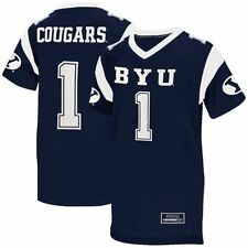 Youth BYU Cougars Navy Blue Blitz Football Jersey