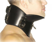 Strict Leather BDSM High Quality Posture Collar. Neck Corset. Sizes S/M & M/L