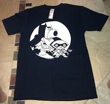 Family Guy Super Heroes Black/White Size S or M or L 100% Cotton T-Shirt NWT $20