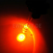 20 Leds 5mm amber 8000mcd bernstein LED PC Modding Car car Model making