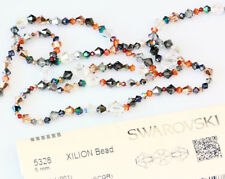 Genuine SWAROVSKI 5328 XILION Bicone Beads * Many Crystal Colors with Effects