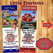Little Einsteins Birthday Invitations & Thank You Cards Personalized