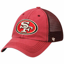 San Francisco 49ers '47 Trailway Closer Flex Hat - Scarlet - NFL