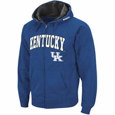 Kentucky Wildcats Stadium Athletic Arch & Logo Full Zip Hoodie - Royal - College