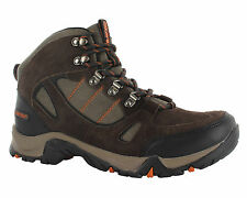 Men Hi-tec Falcon Wide Fit Leather Waterproof Walking Hiking Boots Size 7-16