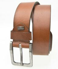 New Tan Leather Belt Mens Rugged style Tan Belt distressed buckle by Prime Hide
