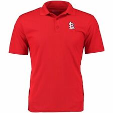St. Louis Cardinals Stitches Polyester Polo - Red - MLB