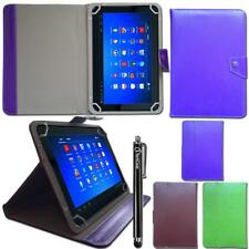 """Leather Universal Case Cover Horizontal Angle Stand for 10.1"""" Inch Tablet Stylus"""