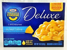 Kraft 2% Milk Cheese Macaroni & Cheese Deluxe Dinner 14 oz Mac
