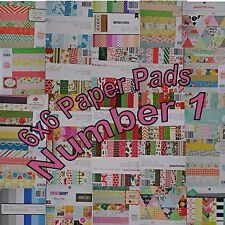 Scrapbook American Crafts We R Memory Keepers Crate Paper Pebbles 6x6 Paper Pad