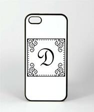 Monogram IV - iPhone 4, 4s, 5, 5s Cover Case - Customizable! Fancy Initial #86IC