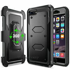 Rugged Hybrid Armor Case Cover With Stand Holster Belt Clip For Samsung iPhone