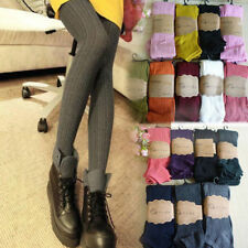 New Warm Women Lady Knit Cotton Special Thick Stretchy Stirrup Leggings Pants