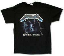 METALLICA RIDE THE LIGHTNING BLACK T-SHIRT NEW OFFICIAL ADULT