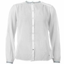 Pepe Jeans Womens Viva Blouse Ladies Buttons Top Casual Long Sleeves