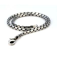 "BICO Pacific Australia Jewelry Pewter Stylus18"" Chain Silver Plated Necklace F14"