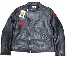 THE ROLLING STONES 14 ON FIRE BLACK LEATHER JACKET LIMITED ED NEW OFFICIAL NWT