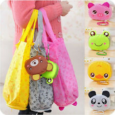 Eco Storage Handbag Cotton Lovely Foldable Shopping Tote Reusable shopping Bags