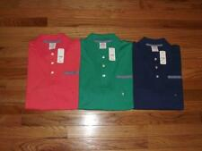 NWT NEW Brooks Brothers Mens Jersey Knit Polo Shirt Fake Left Chest Pocket *C7