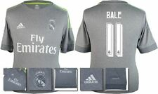 *15 / 16 - ADIDAS ; REAL MADRID AWAY SHIRT SS / BALE 11 = KIDS SIZE*