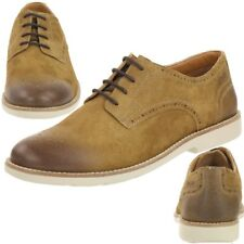 Clarks Raspin Walk tabaco suede sde Men's Lace shoes Leather brown