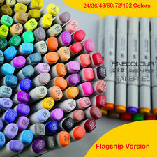 Flagship Version Hand Painted Drawing Sketch Marker Pen 24/36/48/60/72/192 Color