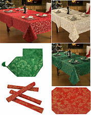 New Festive Party Glitter Tablecloths, Napkins, Runners & Placemats