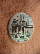 TY- THE ROMAN BATHS BATH ENGLAND SOUVENIR   PIN BADGE #43159