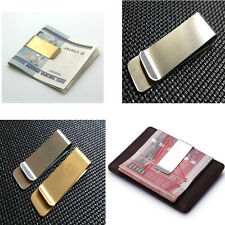 Delicate Metal Money Clip 2 Colors Man Clamp Holder For Money Wallet Silver/Gold