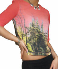 Ladies Top Blouse Shirt Casual Tops Loose Chiffon Tee New Size 8 10 12 14 16 18
