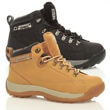 MENS GROUNDWORK SAFETY STEEL TOE CAP WORK BOOTS TRAINERS HIKING SHOES UK 7-12