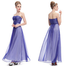 Ever Pretty New Long Blue Maxi Evening Formal Party Prom Dresses 09988 Size 8-18
