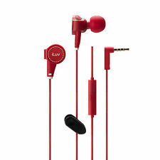 iLuv IEP426 ReF Stereo earphone w/canvas exterior & mic & remote For Smartdevice