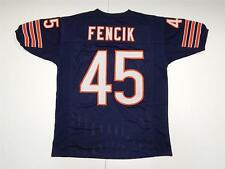 Gary Fencik navy custom jersey sewn letters numbers Chicago Bears M - XXL