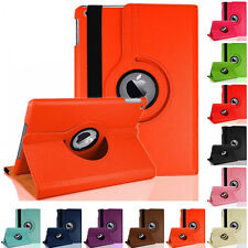 For Apple iPad 2 3 4  Case Fold Leather Skin 360 Rotating Smart Cover Standing