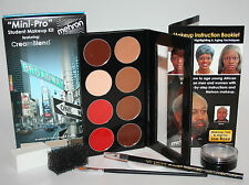 Mini Pro Student Kit theatrical acting school instruction Mehron effects makeup