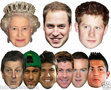 New Celebrity Face Party Mask Fancy Dress Hen Stag Do Masks Fun Night